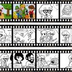 Ausschnitte aus dem Sieger-Comic von Nick Strobel